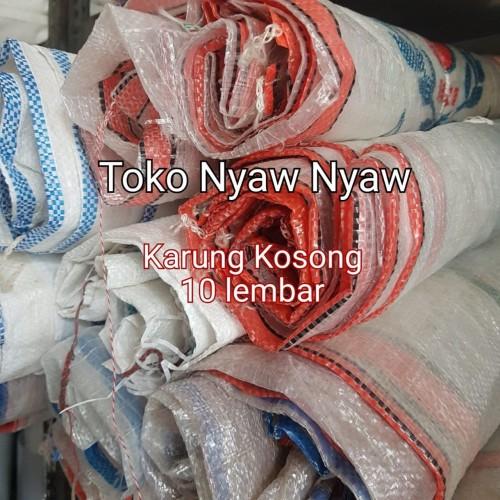 Foto Produk karung beras kosong ukuran 50kg isi 10pcs dari Nyaw Nyaw