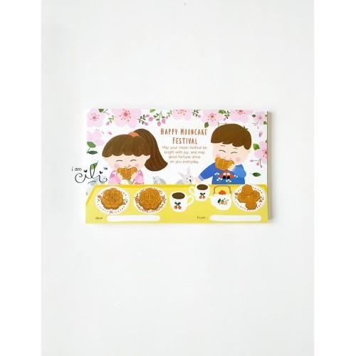 Foto Produk (HT-MOONCAKE03) kartu besar kotak ucapan mooncake kue bulan iamcili dari i am CiLi