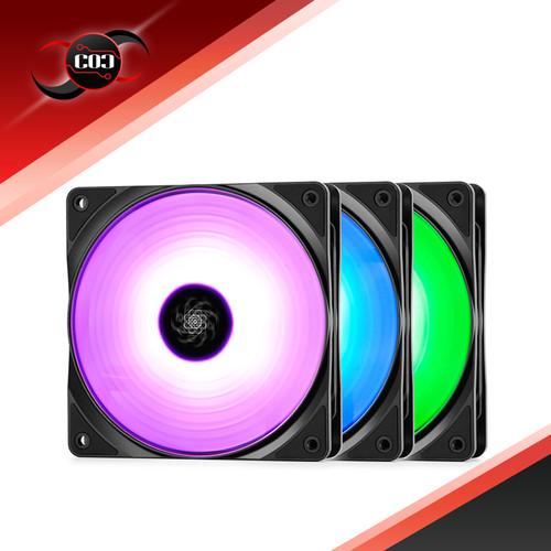 Foto Produk Deepcool RF 120 3 In 1 12CM RGB LED dari COC Komputer