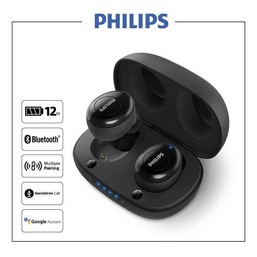 Foto Produk Philips TAUT102BK True Wireless In-Ear Earbud dari Philips Audio Official