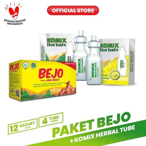 Foto Produk Paket Bejo + Komix Herbal Tube Masuk Angin dari Bintang Toedjoe Official
