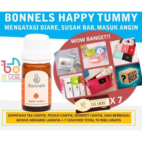 Foto Produk [ORIGINAL] Bonnels Happy Tummy BLEND Oil (Happy Tummy + Happy Eat) dari DD Official Store