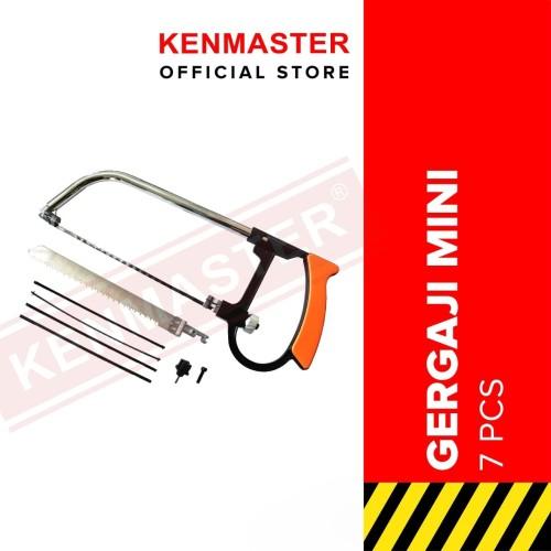 Foto Produk Kenmaster Gergaji Besi Serbaguna 7Pcs/Set KM-02 Blister dari Kenmaster Official