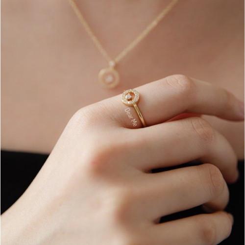 Foto Produk Dear Me - Serena Ring (925 Sterling Silver & 18K Gold Plating) Cincin dari Dear Me Jewelry
