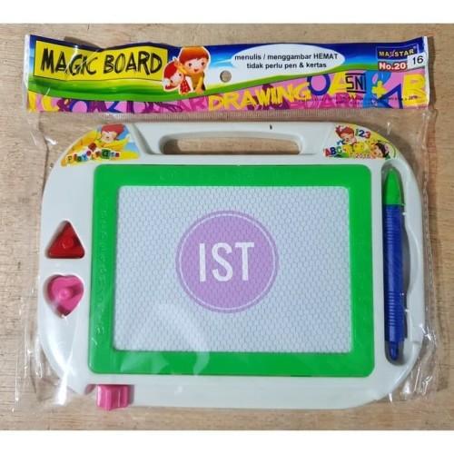 Foto Produk Mainan Anak Magic Board Papan Tulis Magnet Maxstar 2016 dari Toko-Ku by FAS-TOP