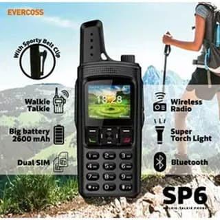 Foto Produk Evercoss SP6 Walkie Talkie Garansi Resmi dari Nic-cell
