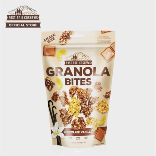 Foto Produk East Bali Cashews Granola Bites Chocolate Vanilla 125 gram dari Alora Essential