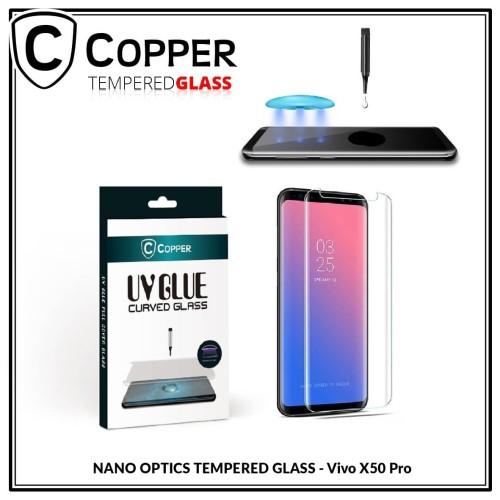 Foto Produk Vivo X50 Pro - COPPER Nano UV Glue Tempered Glass dari Copper Indonesia