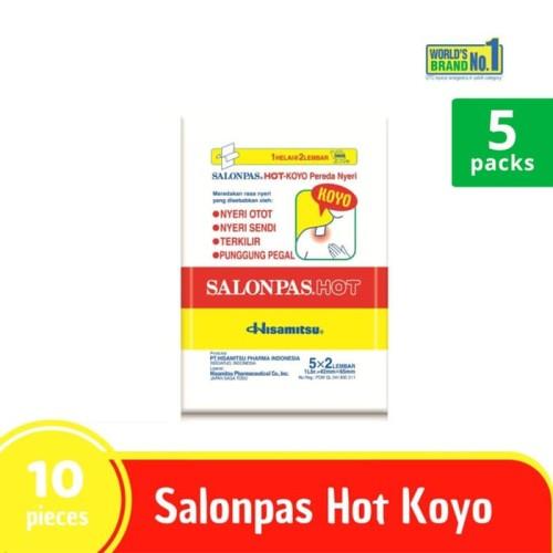 Foto Produk SALONPAS MULTIPACK - Koyo Pereda Nyeri Hot isi 10 dari Hisamitsu