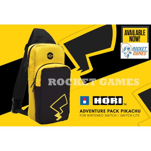 Foto Produk Sling Bag Travel Bag Adventure Pack Pikachu Nintendo Switch / Lite - PIKACHU dari Rocket games