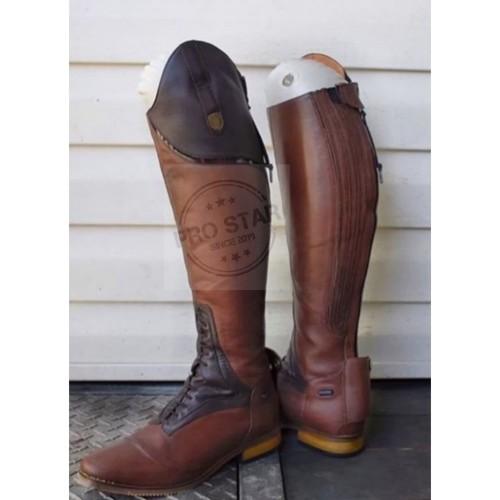Foto Produk Sepatu Kulit Berkuda Pria / Sepatu Kulit Pria Boots - Hitam, 38 dari New Pro Star