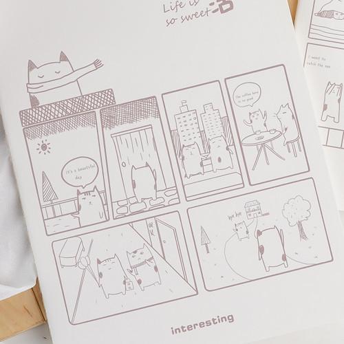 Foto Produk ARAMI Soft Cover Diary Notebook Buku Tulis Memo Meeting Kantor Sekolah - Beautiful Day dari Arami Lifestyle