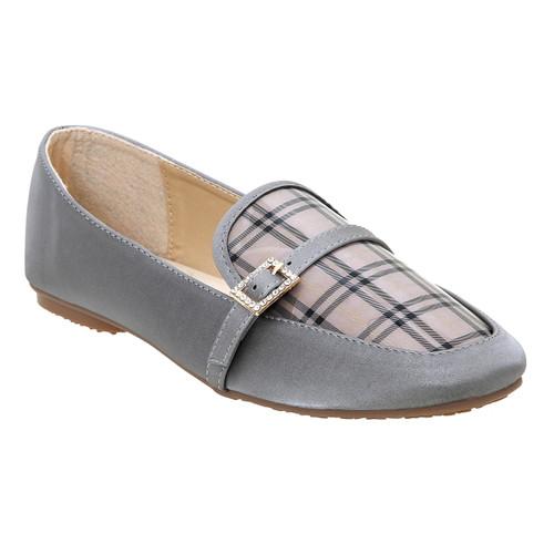 Foto Produk Les Femmes Sepatu Flat Wanita - L79-191119 - GREY, 38 dari LesFemmes Official Store