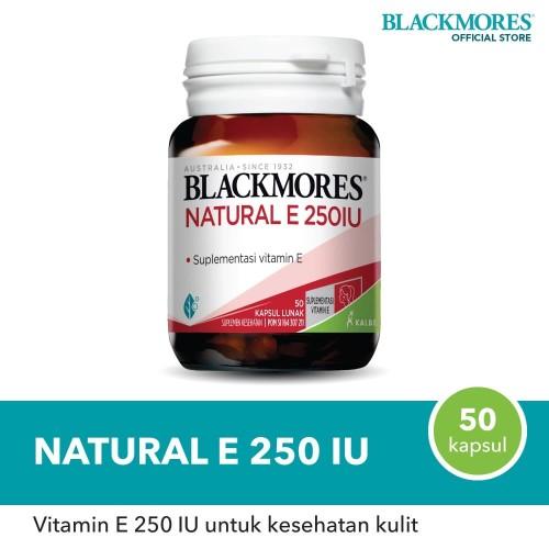 Foto Produk Blackmores Natural E 250 IU (50) dari Blackmores Wellness