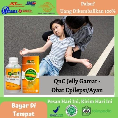 Foto Produk QnC Jelly Gamat - Obat Epilpsi, Ayan, Kejang, Sering Jatuh, Pingsan dari MP Herbal