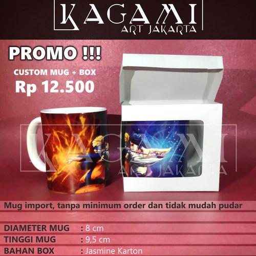 Foto Produk Mug Custom Import Satuan/Grosir + Box dari KaGaMi Art Jakarta