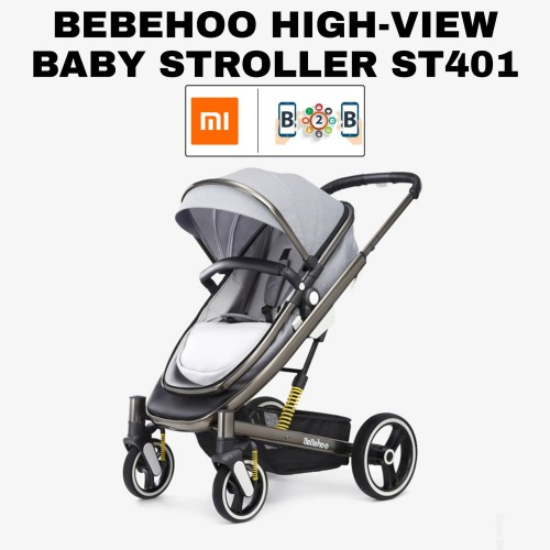Foto Produk BEBEHOO HIGH VIEW BABY STROLLER ST401 KERETA DORONG BAYI dari b2b mobile