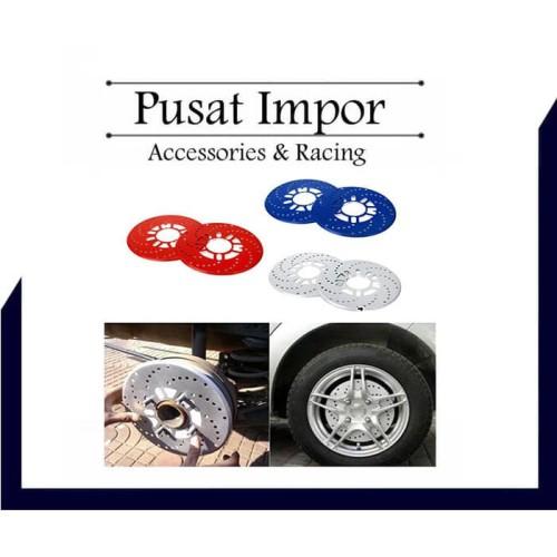 Foto Produk Cover Tromol Rotor Disc Brake Cover Import Universal - Merah dari Pusat Impor