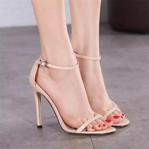 Foto Produk High heels cantik / Heels strap - KREM, 36 dari morningbell online shop