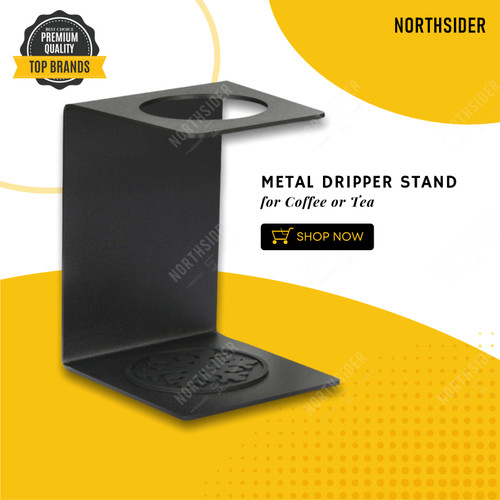 Foto Produk STAND DRIPPER KOPI V60 - TEH BESI - METAL POUR OVER COFFEE - TEA STAND dari Northsider coffee shop