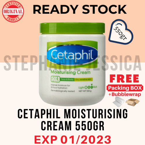 Foto Produk [TERMURAH] Cetaphil moisturising cream 550 gr dari Stephanie Jessica
