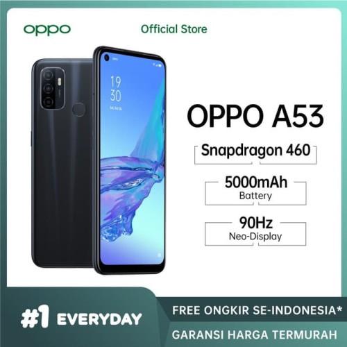 Foto Produk OPPO A53 4/64 GB - Garansi Resmi OPPO - Hitam dari Universe Store