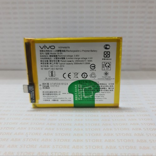 Foto Produk Batre Baterai Batere Battery Vivo V7 B-D5 3000mAh Original 100% dari ABK STORE