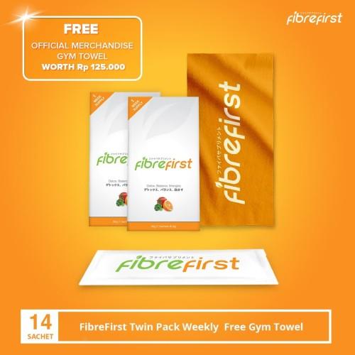 Foto Produk FibreFirst Twin Pack Weekly free Gym Towel dari FibreFirst Official