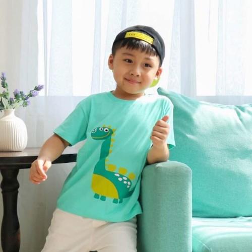 Foto Produk Little Jergio - L029 Kaos Anak - Anak Motif DIno Usia 1-9 Y0 - XL 6-7YO dari Little Jergio