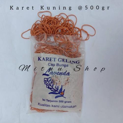 Foto Produk Karet Kuning/Karet Gelang Kuning @500gr dari mituu shop