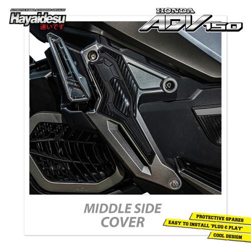 Foto Produk Hayaidesu Honda ADV Middle Side Step Body Protector Cover - Hitam dari Hayaidesu Indonesia