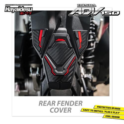 Foto Produk Hayaidesu Honda ADV Rear Fender Body Protector Cover - Merah dari Hayaidesu Indonesia
