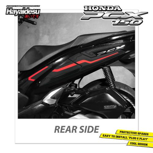 Foto Produk Hayaidesu PCX Body Protector Rear Side Cover New Version - Merah dari Hayaidesu Indonesia