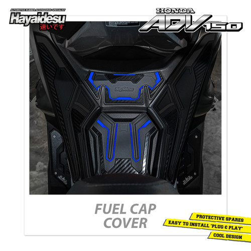 Foto Produk Hayaidesu Honda ADV Fuel Cap Body Protector Cover - Biru dari Hayaidesu Indonesia