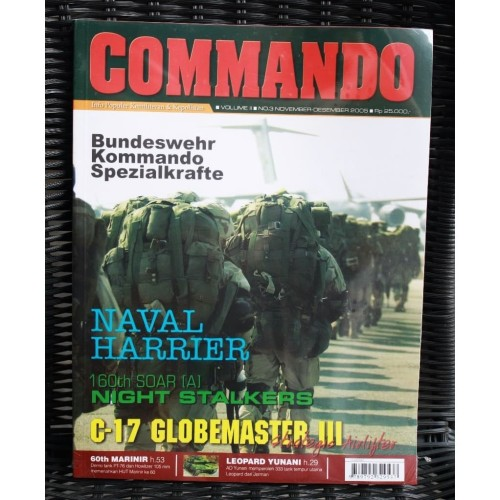 Foto Produk Majalah Commando No. 3 Tahun 2005 dari Airspace Review