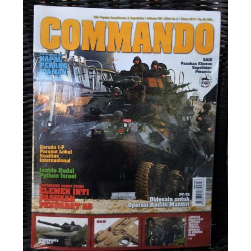 Foto Produk Majalah Commando No. 3 Tahun 2012 dari Airspace Review
