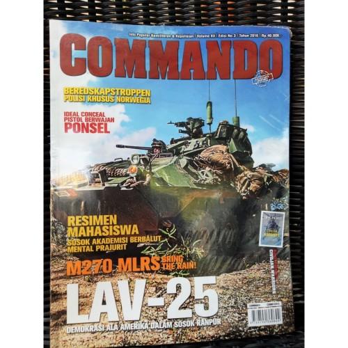 Foto Produk Majalah Commando No 3 Tahun 2016 dari Airspace Review