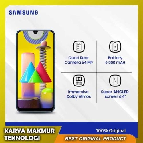 Foto Produk Samsung Galaxy M31 6GB/128GB Baterai 6000 Mah - Quad Rear Camera 64 MP dari Karya Makmur Teknologi