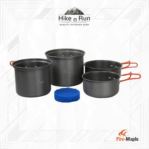 Foto Produk Alat masak camping FM Set Cookware 4-5P FMC-208 Firemaple dari Hike n Run