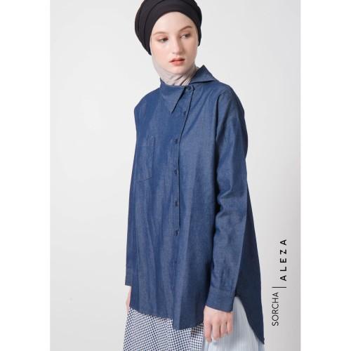 Foto Produk Serra Shirt Denim Blue dari ALEZA
