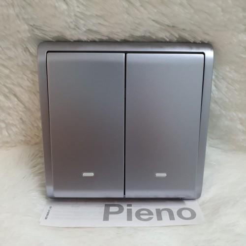 Foto Produk Pieno lavender silver schneider saklar seri clipsal dari firstshop899
