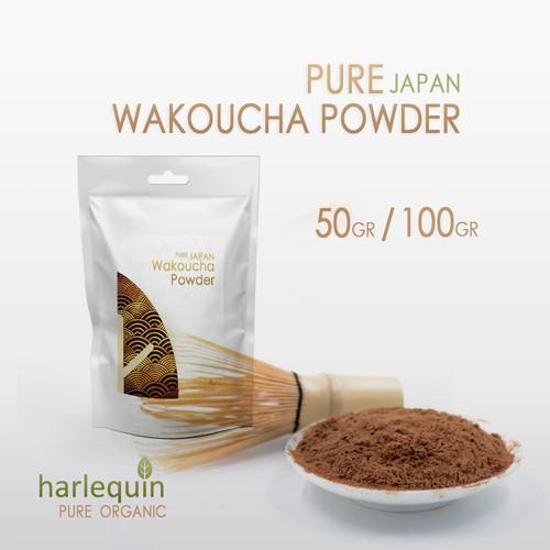 Foto Produk Wakoucha Powder Japan 50 Gram Pure Koucha Black Tea Powder dari Harlequin Herb