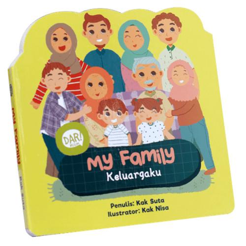 Foto Produk BBW : MY FAMILY - KELUARGAKU (BOARDBOOK) dari Mizanstore