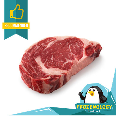 Foto Produk Daging Sapi Ribeye Steak Import AUS Beef Grade A Rib Eye / Cube Roll - 150 gram dari frozenology
