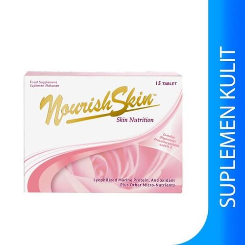Foto Produk NOURISH SKIN 15 Tablet - 15 tab dari Mikhaiko Store