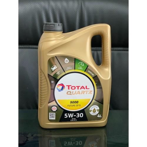 Foto Produk Oli Total Quartz 9000 5w30 4 Liter dari Lubricants Pelumasindo