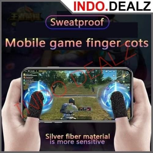 Foto Produk iGlove Jempol Sarung Jempol PUBG Mobile Legend Game Handphone dari Indo Dealz