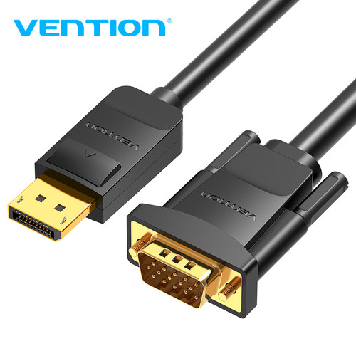 Foto Produk Vention Kabel Display Port Thunderbolt DP To VGA Male Converter - HBL 1.5m dari SinShe-Tekno