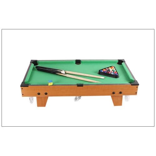 Foto Produk Mainan anak mini meja kayu Tabletop Pool Table - Billiar Mini Billiard dari qinqinlinshop