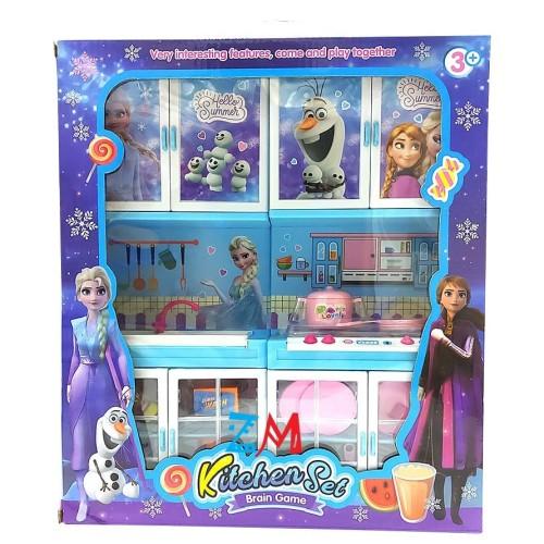 Foto Produk Mainan Anak Kitchen Set Frozen LS332-13 Lampu dan Suara dari motherkids